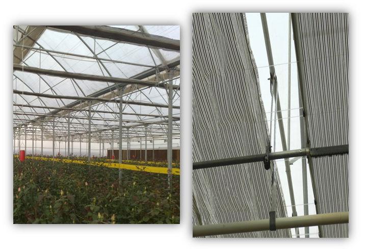 انواع سازههاي مربوط به سيستم سايبان و حفاظ حرارتي در شرکت پارس دشت چهلستون
